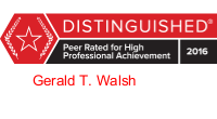 Gerald Walsh Badge